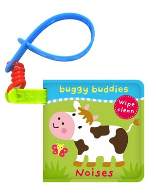 Book cover for Wipe-Clean Buggy Buddies: Noises